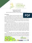 Buku Panduan Lomba Poster Ilmiah Jogja Energy Forum 2014