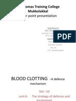 Blood Clotting PPT