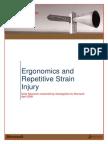 Ergonomics and Repetitive Strain Injury