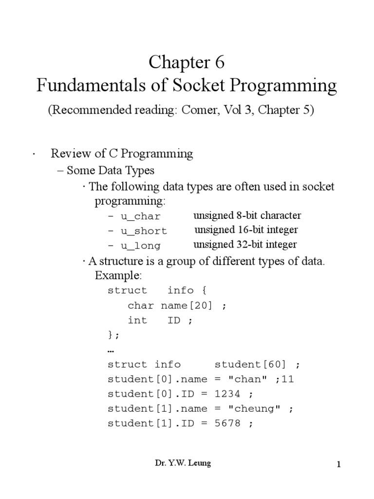 Fundamentals of Socket Programming | Network Socket | Port (Computer