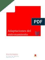 03 Adaptaciones Del Entrenamiento Del Cuerpo de Bomberos