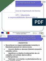Cidadania e Profissionalidade -Organização Eventos