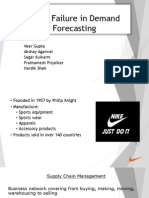 NIKE- Failure in Demand Forecasting