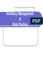 4 Inventory Management and Risk Pooling