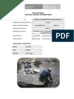 Ficha Tecnica Monitoreo Tacaza 3er Trim 2014