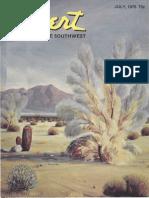 197607 Desert Magazine 1976 July