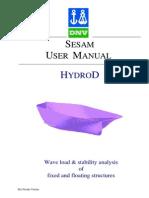 HydroD User Manual