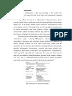 Drug Induced Stomatitis