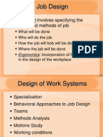Design of Work System