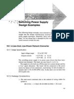 SMPS Flyback Design
