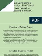 EnronDevelopmentCorporation_TheDabholPowerProject