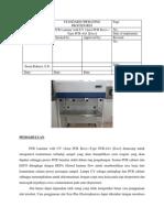 Pcr Laminar With Uv Aura Pcr Box Type Pcr 4a1 Esco