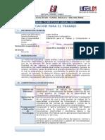 Programacion Anual 2012 - Tercero