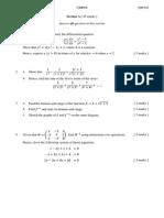 Maths M P1 Trial Exam 2013 Q&A