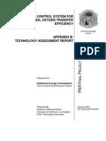 Optimise oxygen transfer efficiency in aeration tank