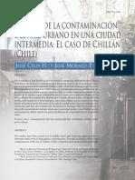 Contaminacion Aire Urbano en Ciudad de Chile
