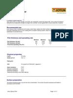 Datasheet  Jotun Epoxy Filler - English (Azad Jotun)