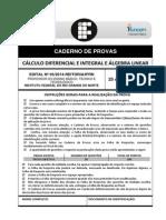 p03 - Cálculo Diferencial e Integral e Álgebra Linear
