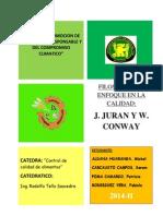 PRACTICA-filosofia Juran y Coway