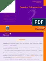 Dossier Informativo Mentes Femeninas 2014