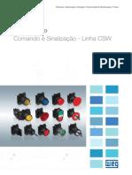 WEG Linha Csw Comando e Sinalizacao 50009820 Catalogo Portugues Br