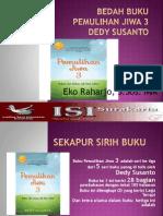 Bedah Buku Pemulihan Jiwa 3 Dedy Susanto