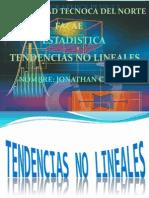 ESTADISTICA Tendencias No Lineales