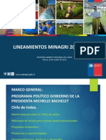 Lineamientos Estrategicos Minagri 2014-2018