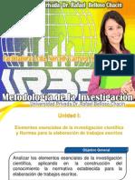 Metodologia de La Investigacion Unidad I