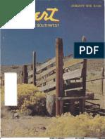 197801 Desert Magazine 1978 January