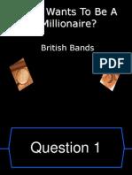 WWTBAM British Bands