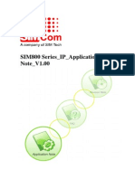 Sim800 Series Ip Application Note v1.00