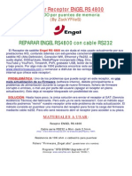 Manual Reparar ENGEL RS4800HD