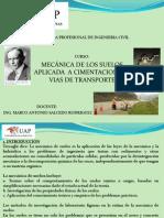 Primera Clase de Mec. de Suelos Uap-huancayo