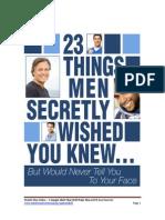 23 Secrets Men