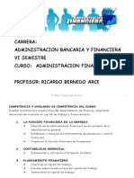 1- Introduccion a La Adm Financiera