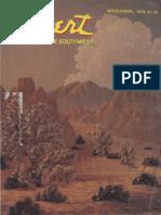 197811 Desert Magazine 1978 November