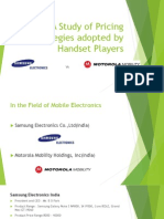 A Study of Pricing Strategies Adopted by Handset Final