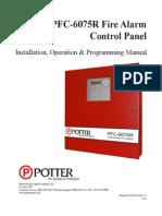 Potter Control Panel Manual