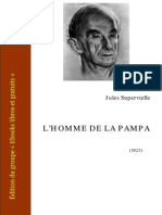 Supervielle l Homme de La Pampa