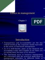 Ethics in Management