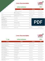PNL 2014 Primeiro Ano Leitura Autonoma