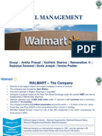 Retail Management Walmart
