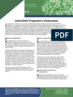Spanish Salmonella Preguntas y Repuestas