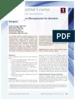 Anestesia en Cirugia Bariatricax
