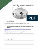 histoire vacances des français