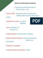 PROCEDIMENTOS DE PRESTAÇÃO DE SERVIÇOS.doc