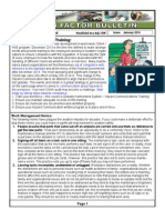 Human Factor Bulletin January 2014
