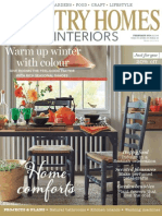 Country Homes Interiors Magazine February 2014