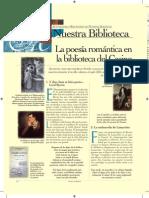 Poesía Romántica en Biblioteca Del Casino Art_Nuestra Biblioteca